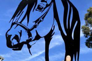 CNC cut Horse