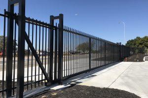 Garrison Sliding Gate 17m