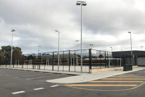 Sports Grounds Volleyball Posts